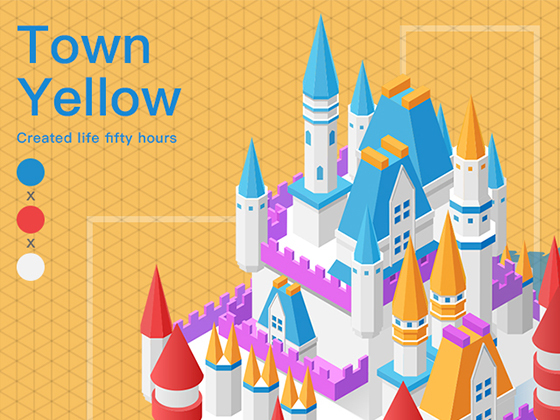 Town Yellow 2.5D