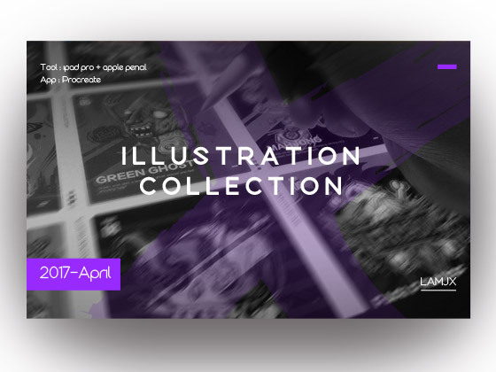 Illustration collection in Apr