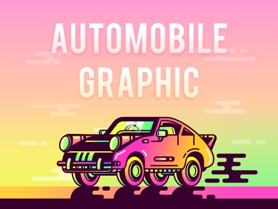 SA9527-Automobile Graphic(附思路分