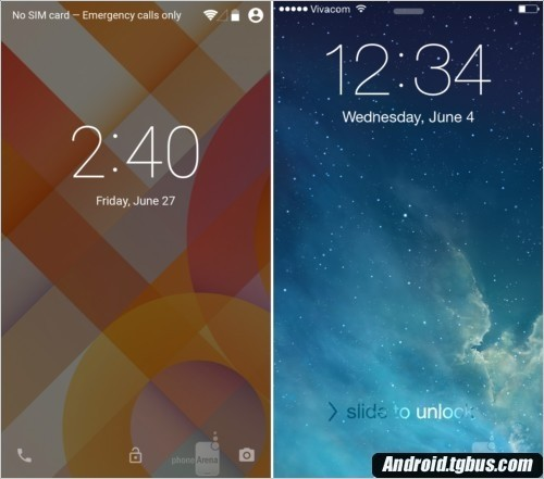 Android L ??? iOS8 ?????? ?????? ?????? ??????