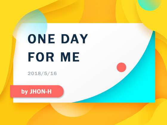 ONE DAY FOR ME