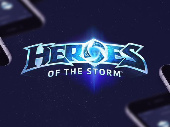 Heroes of the Storm Mobile App