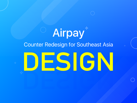Airpay Counter APP Redesign